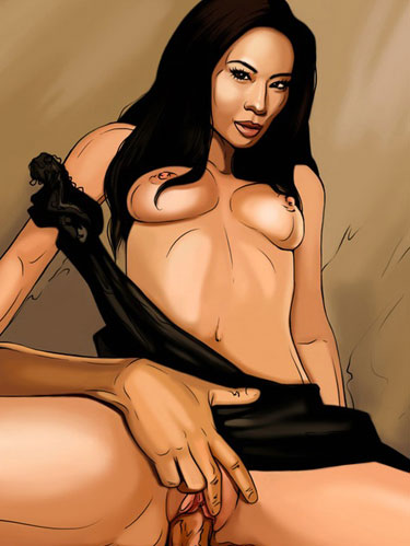Lucy Liu is hardcore drawn celebrity sex gallery!